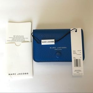 NWT Marc Jacobs Empire City Leather Card Case